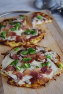 cauli pizza crusts