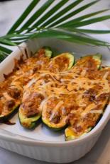 chicken enchilada boats