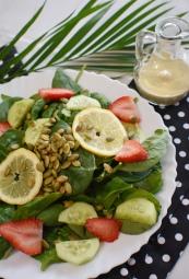 lemon pumpkin salad
