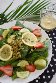 lemon pumpkin salad