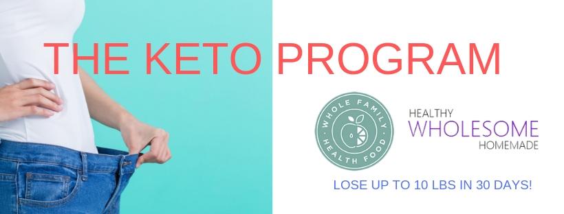 THE KETO PROGRAM BANNER JPEG