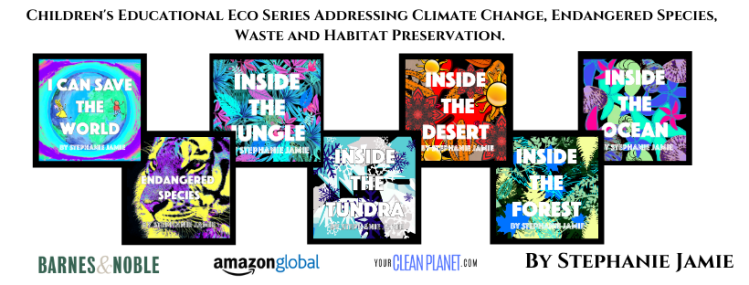 Children's Educational Eco Series Addressing Climate Science, Endangered Species, Waste and Habitat Preservation-4